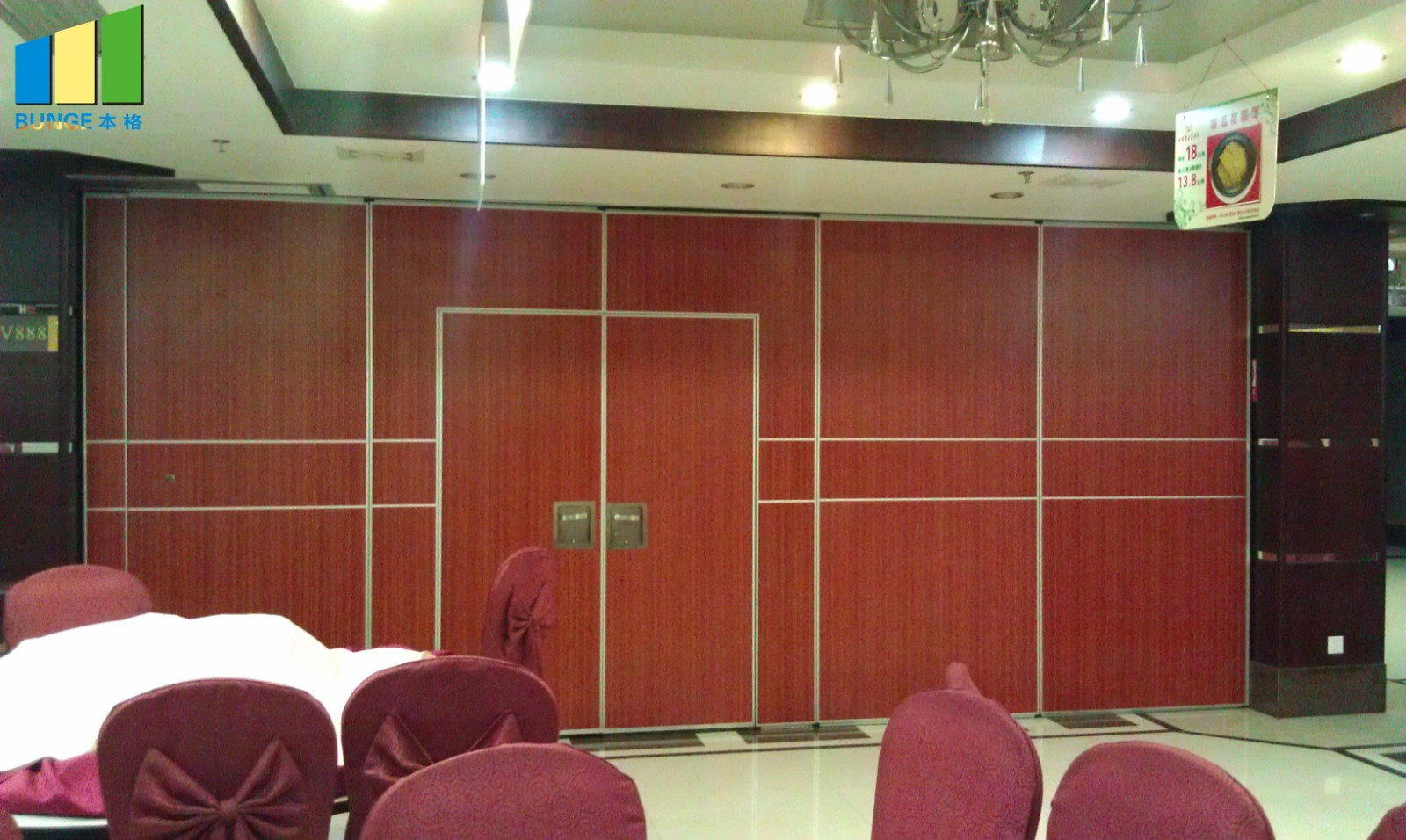 Bunge-Best Sliding Partitions Sound Proof Moveable Doorsacoustic Sliding-1