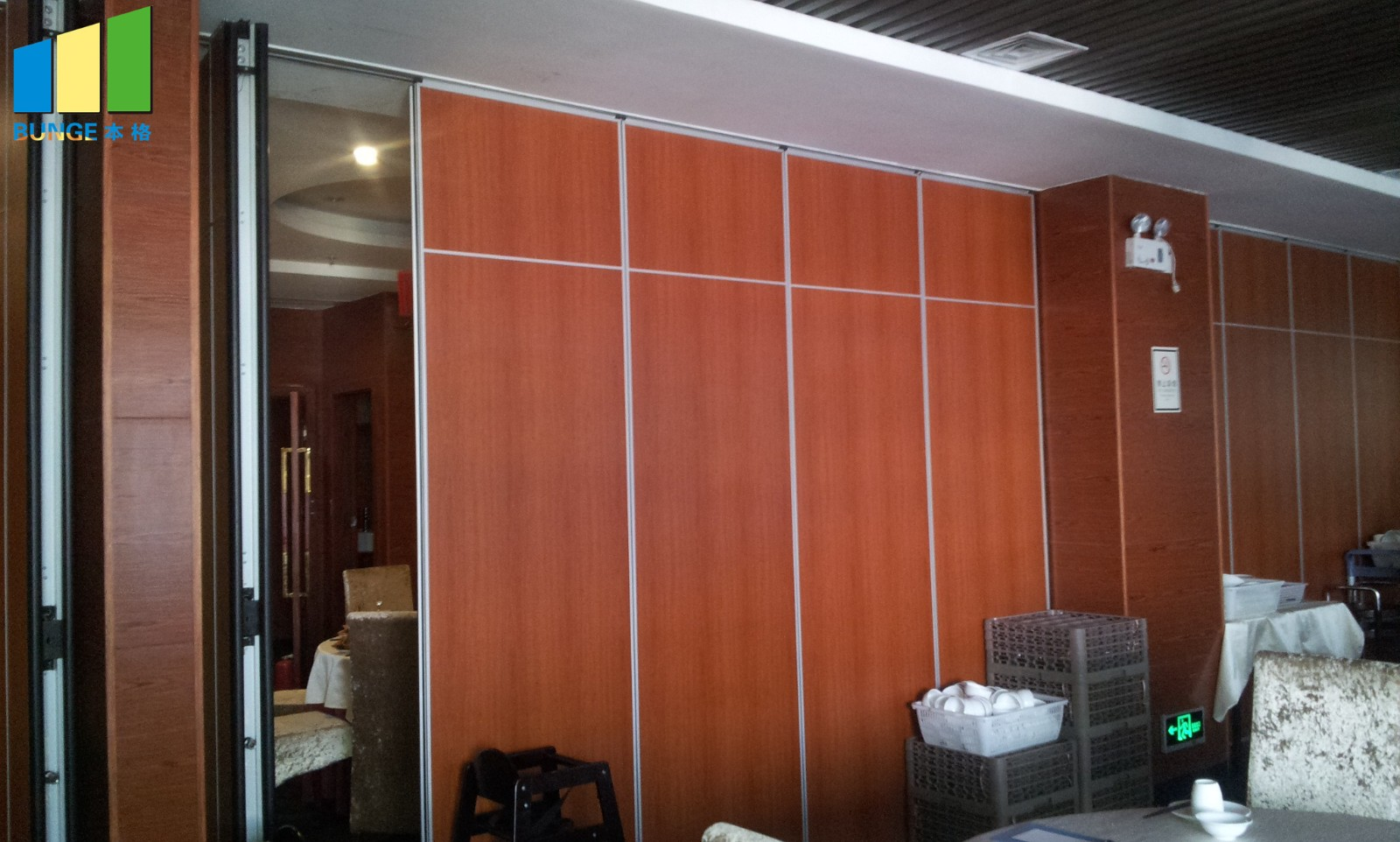 EBUNGE hanging system portable partition wall systems factory direct supply for conference room-14
