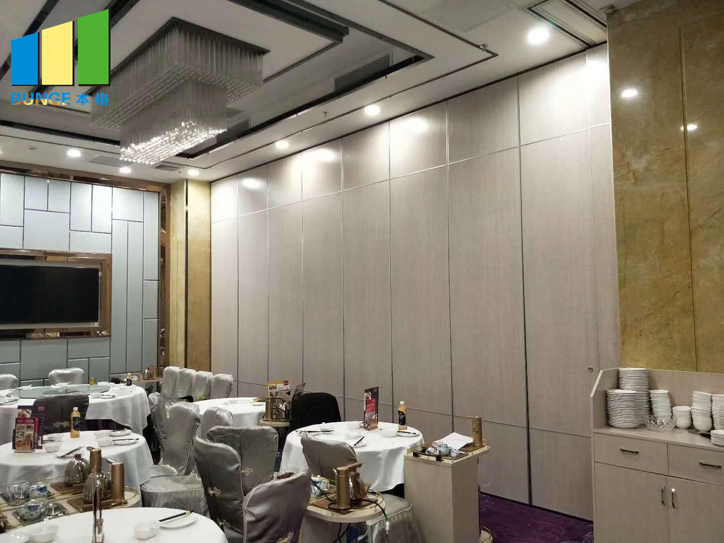 Bunge-Operable Partition Wall | Multi-purpose Hall Decorative Acoustic-1
