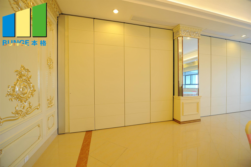 Bunge-Professional Sliding Wall Dividers Movable Wooden Partition Manufacture-13