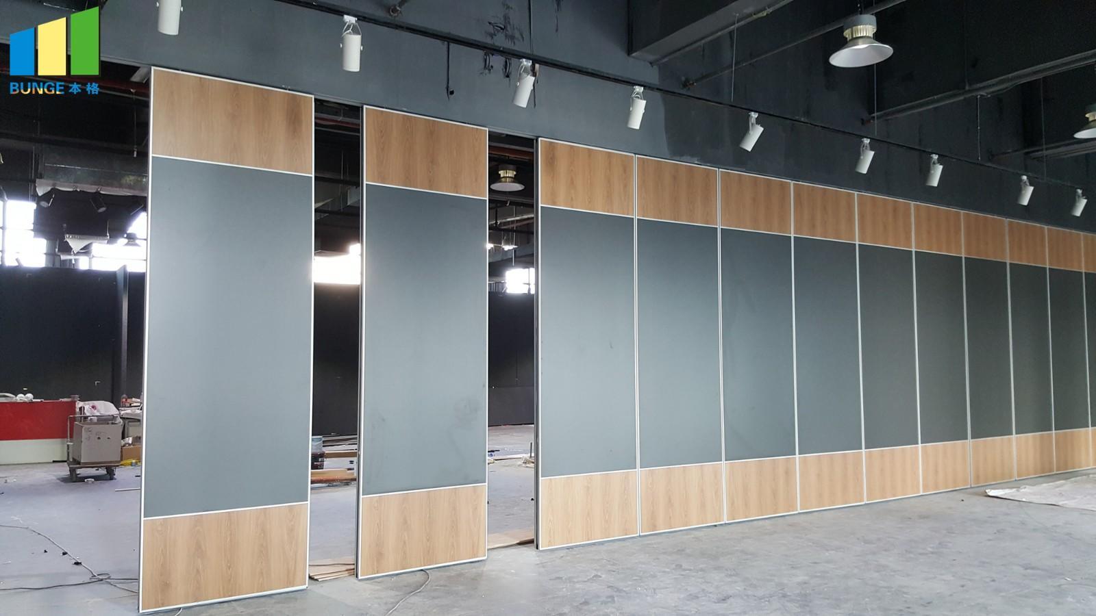 sliding partition walls leather sliding room dividers Bunge Brand