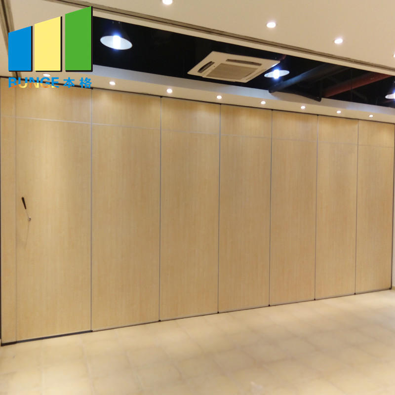 product-EBUNGE-Retractable Acoustic Folding Partition Walls for Conference Room-img