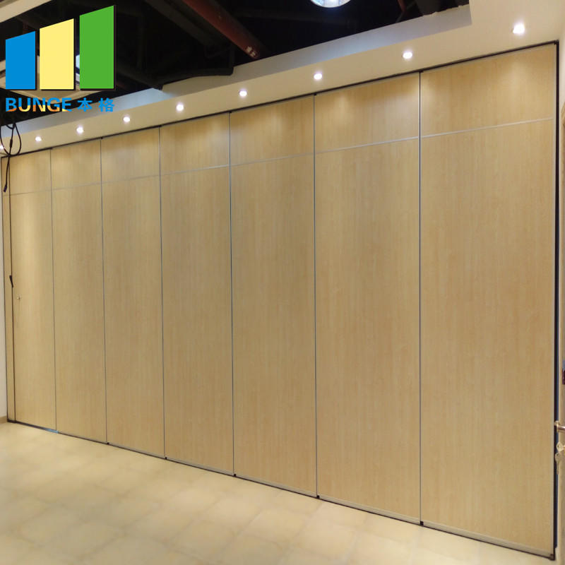 product-Retractable Acoustic Folding Partition Walls for Conference Room-EBUNGE-img-1