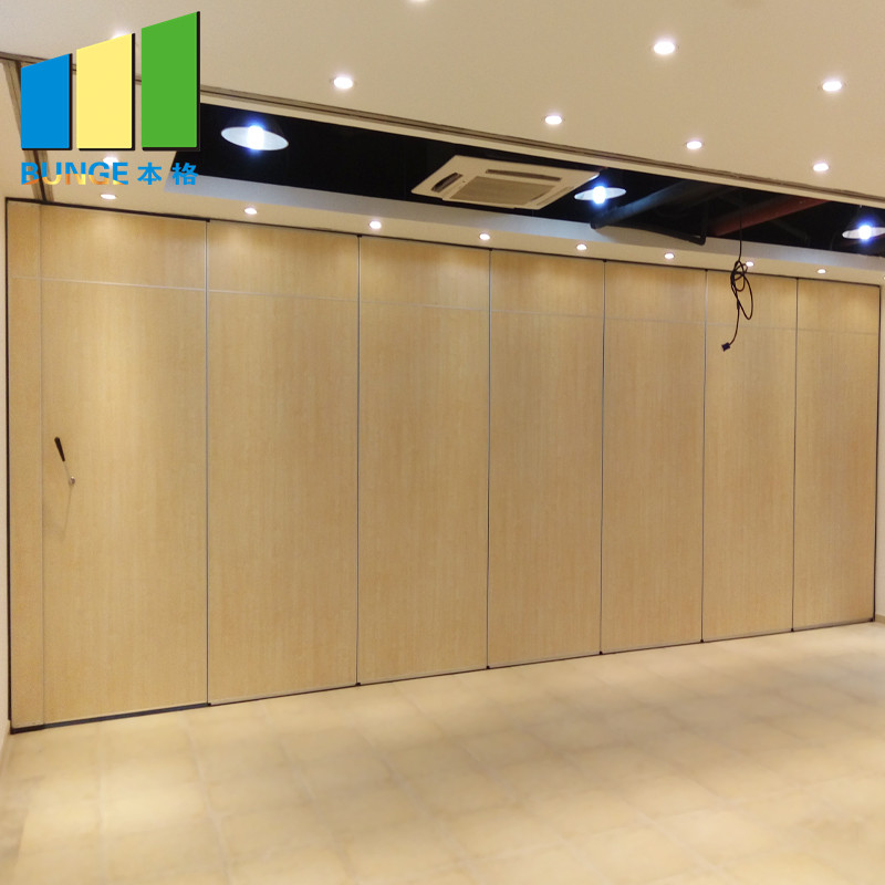 Bunge-Moveable Walls, Retractable Acoustic Folding Partition Walls For Conference Room-1