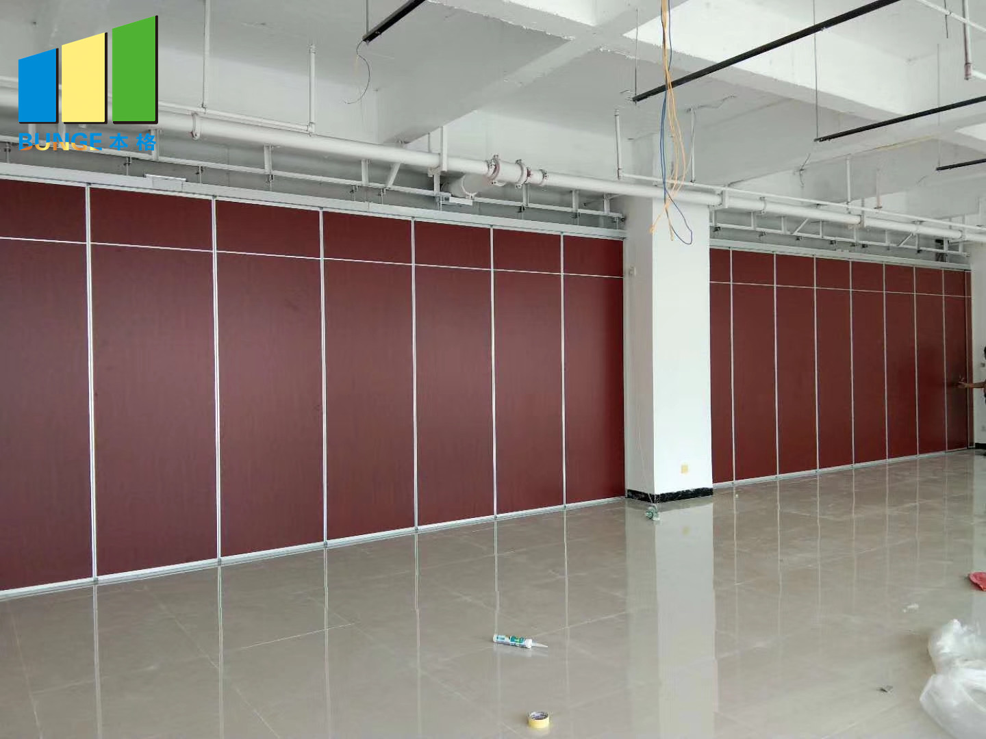 Bunge-High-quality Interior Partition Operable Sliding Partition Walls-13