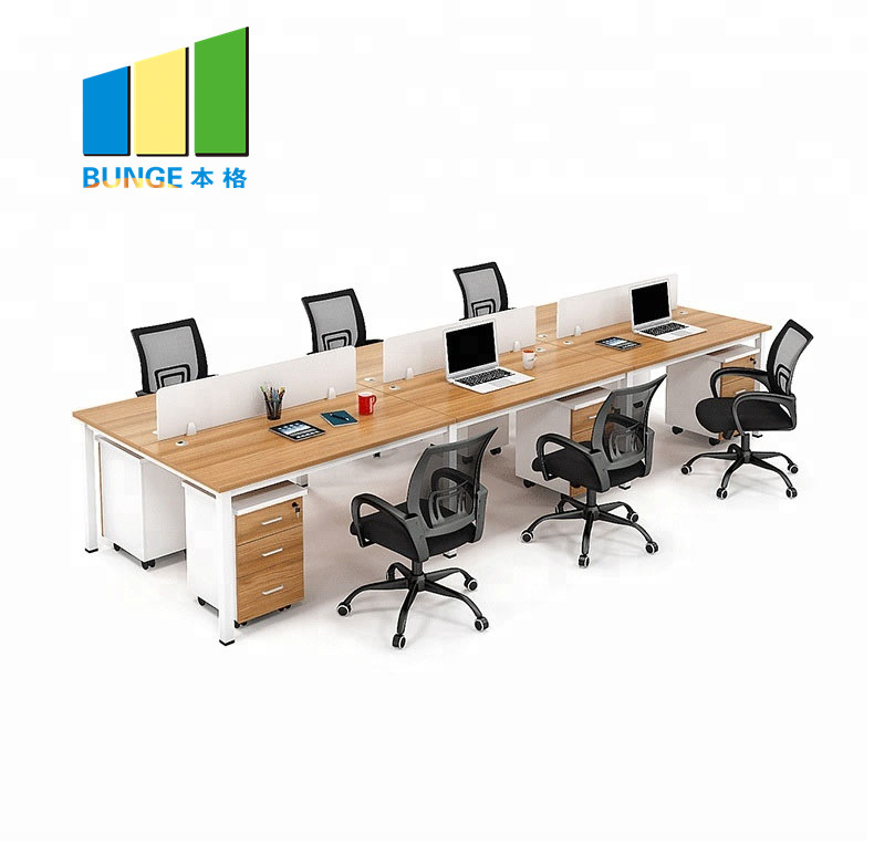 Bunge-Professional Office Computer Table Modern Office Workstations Supplier