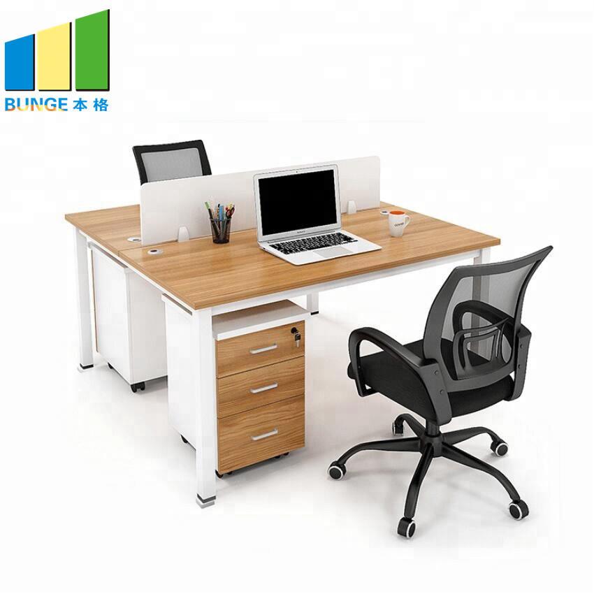 Modern Design BUNGE Office Furniture Factory,MDF Custom Office Workstations/Desks