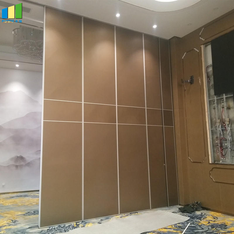 Soundproof Decorative Material Aluminium Movable Partition Wall for Banquet Hall