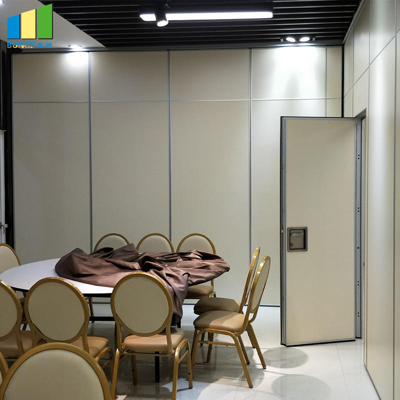 product-EBUNGE-Acoustic Aluminium Hanging System Movable Wall Banquet Room Partitions-img