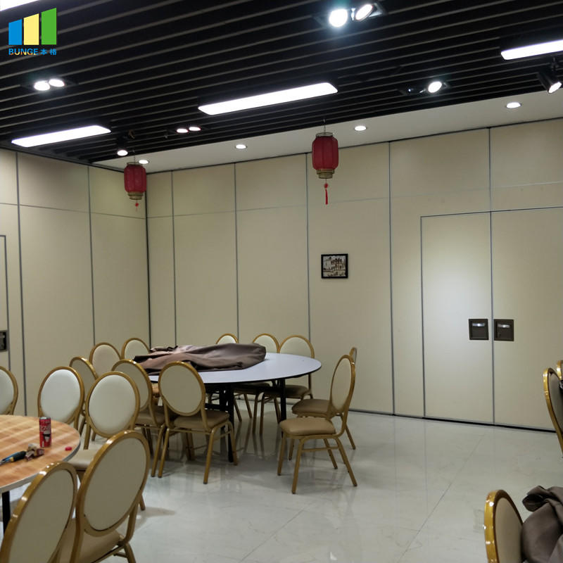 Acoustic Aluminium Hanging System Movable Wall Banquet Room Partitions