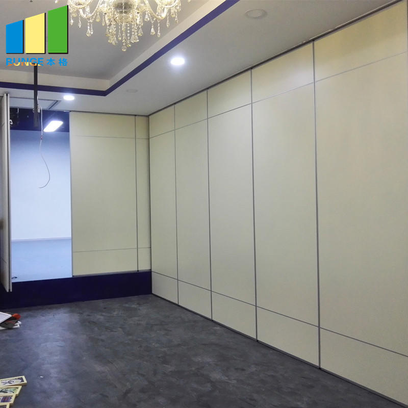 Acoustic Aluminium Hanging System Movable Wall Banquet Room Partitions-EBUNGE