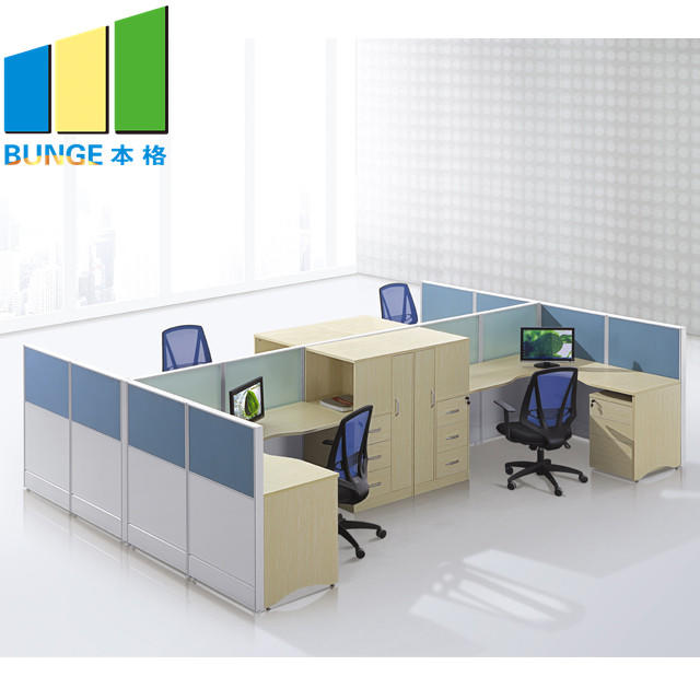 product-Saving Space Office Furniture Contemporary Office Cubicles 2-6 Seat Office Partition Walls-E-1