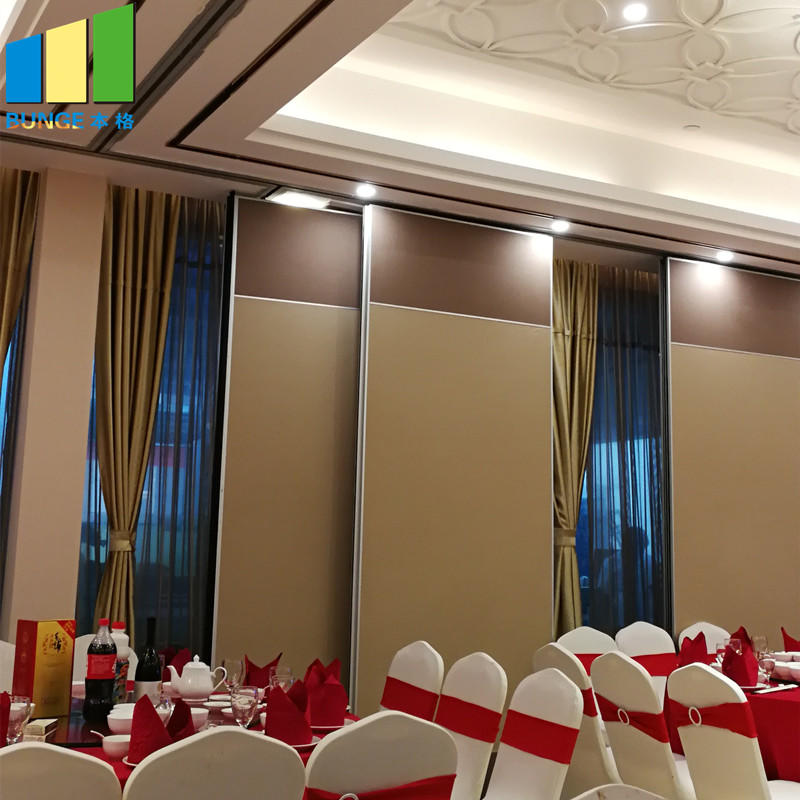 Flexible Hanging System Soundproof Office Folding Partition Wall for Conference Room