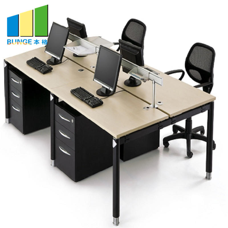 Modern Office Furniture Customized Meeting Table Desk Office Workstation for 2-6 Person