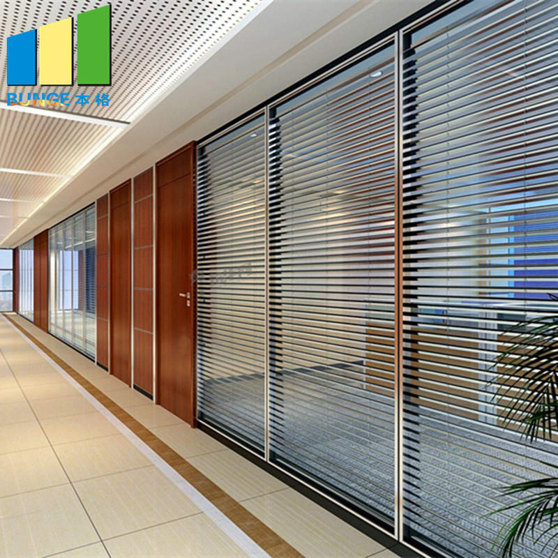 product-Interior Temper Fixed Office Partition Walls Full Height Solid Glass Partitions-EBUNGE-img-1