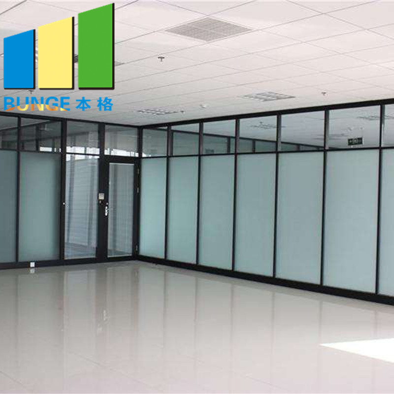 Bunge-Office Glass Partition Design Manufacture | Interior Temper Fixed Office-1