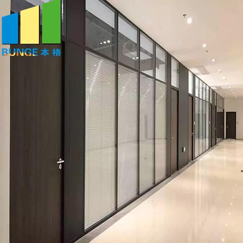 Bunge-Professional Frameless Glass Wall Internal Glass Partition Supplier-1