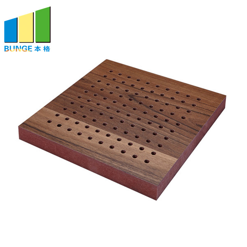 Bunge-Manufacturer Of Sound Insulation Panels Fireproof Perforated Wooden Acoustic-1