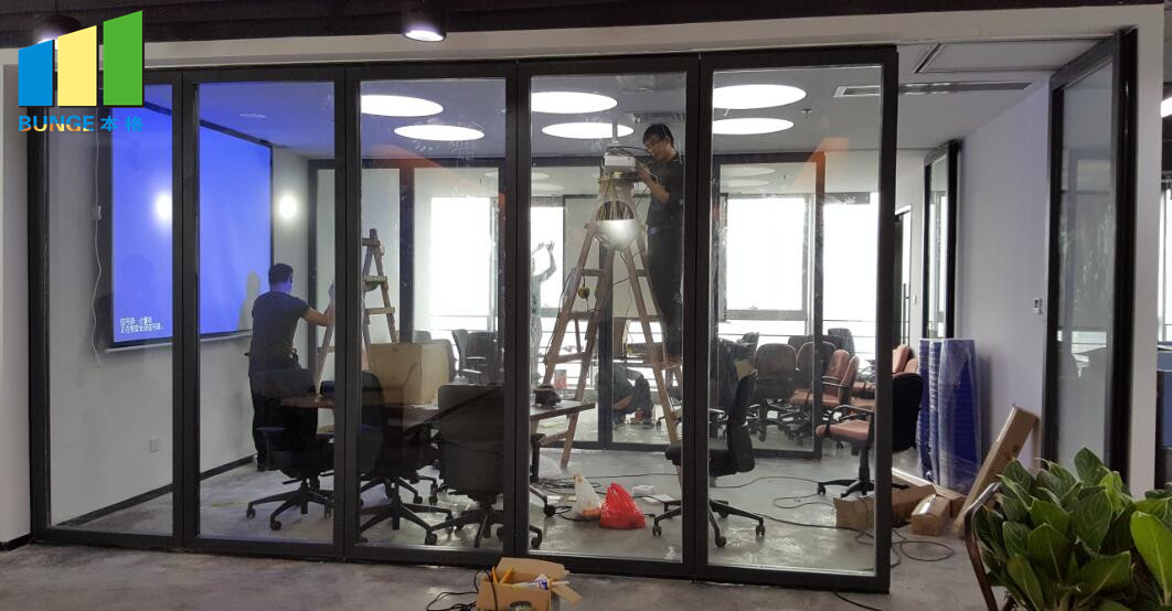 Bunge-Find Glass Partition Glass Door Partition - Bunge Building Decoration-1