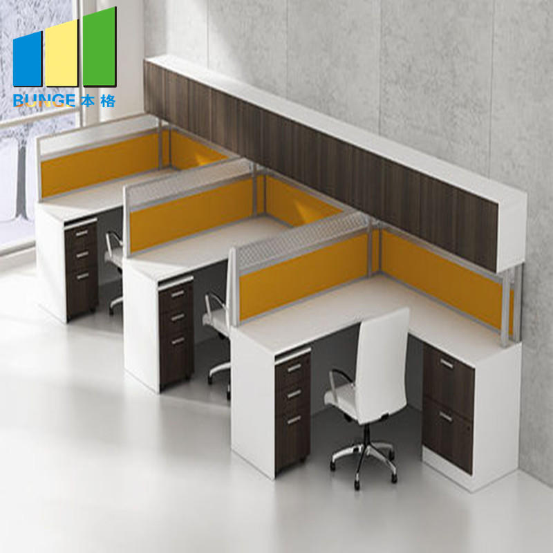 product-Contemporary Modular Secretary Employee Office Desks Computer Tables Workstations Furniture--1