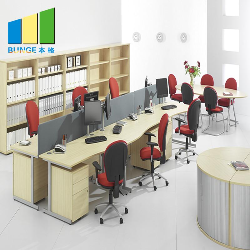 Bunge-High-quality Pc Workstation Desk Office Workstation Desk-5