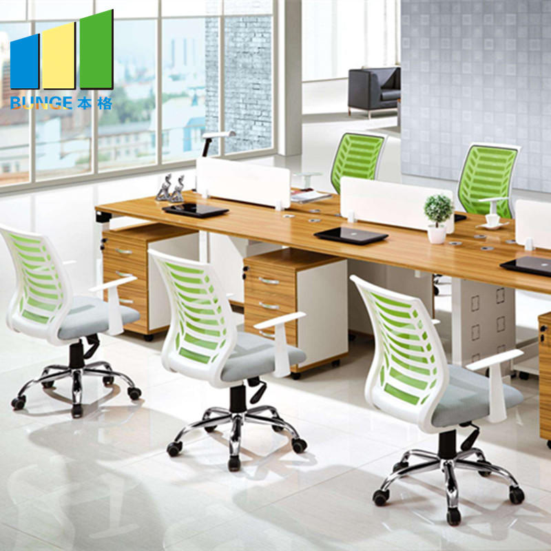 Factory Direct Sell Office Partitions OEM Modular Office Cubicles Workstations Furniture-EBUNGE