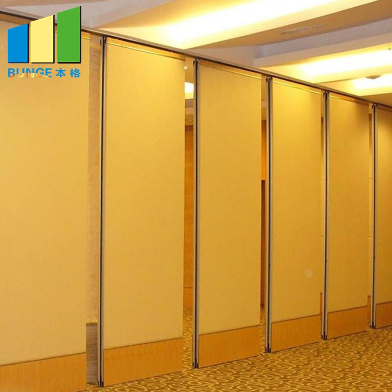 EBUNGE-Function Room Sliding Folding Partitions Aluminum Acoustic Movable Partition Walls