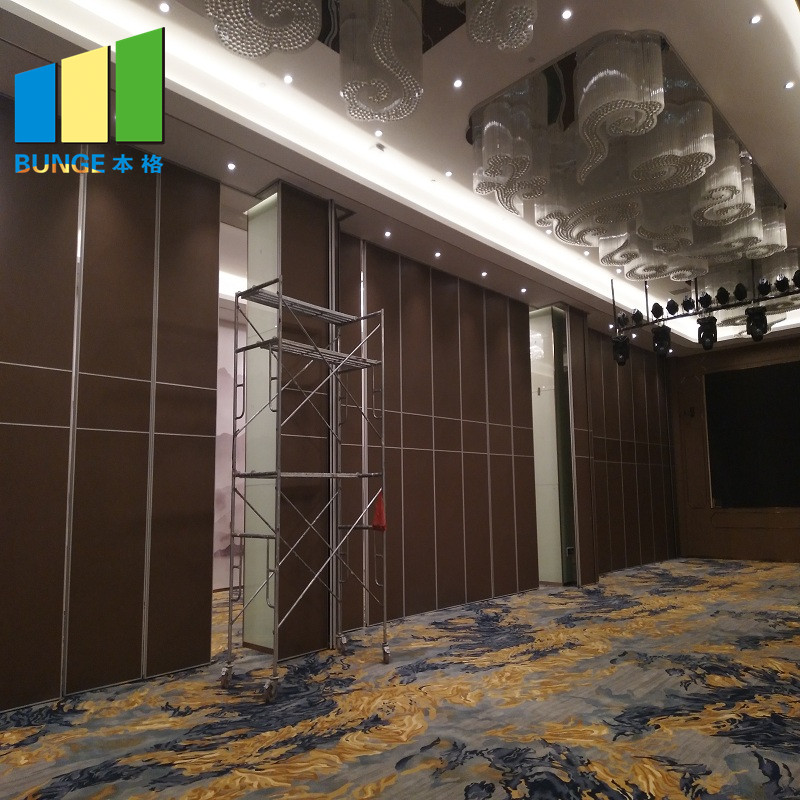 Bunge-Movable Walls, Function Room Sliding Folding Partitions Aluminum Acoustic-6