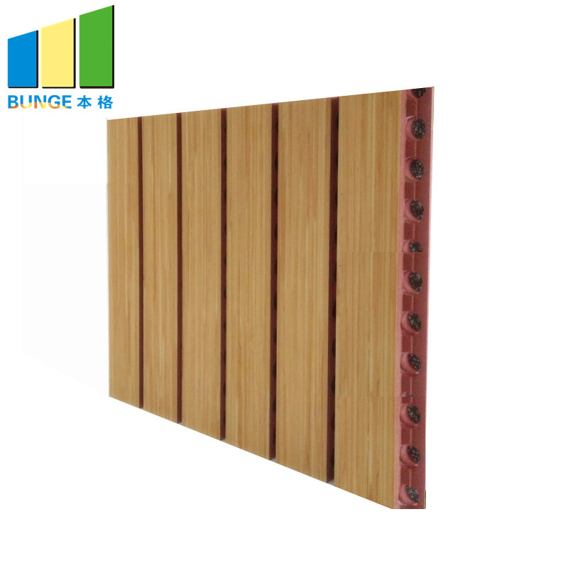 Bunge-Sound Dampening Panels Sound Proof Materials Absorbing Wall Boards Grooved-4