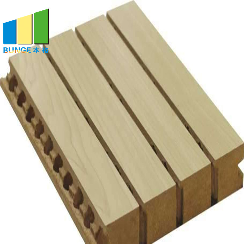 Bunge-Sound Dampening Panels Sound Proof Materials Absorbing Wall Boards Grooved-3