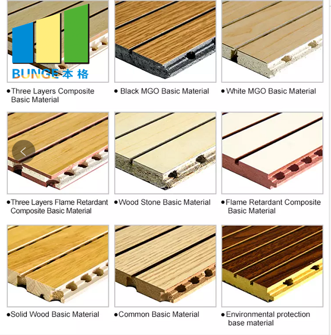 wall wooden acoustic panel material materials Bunge company