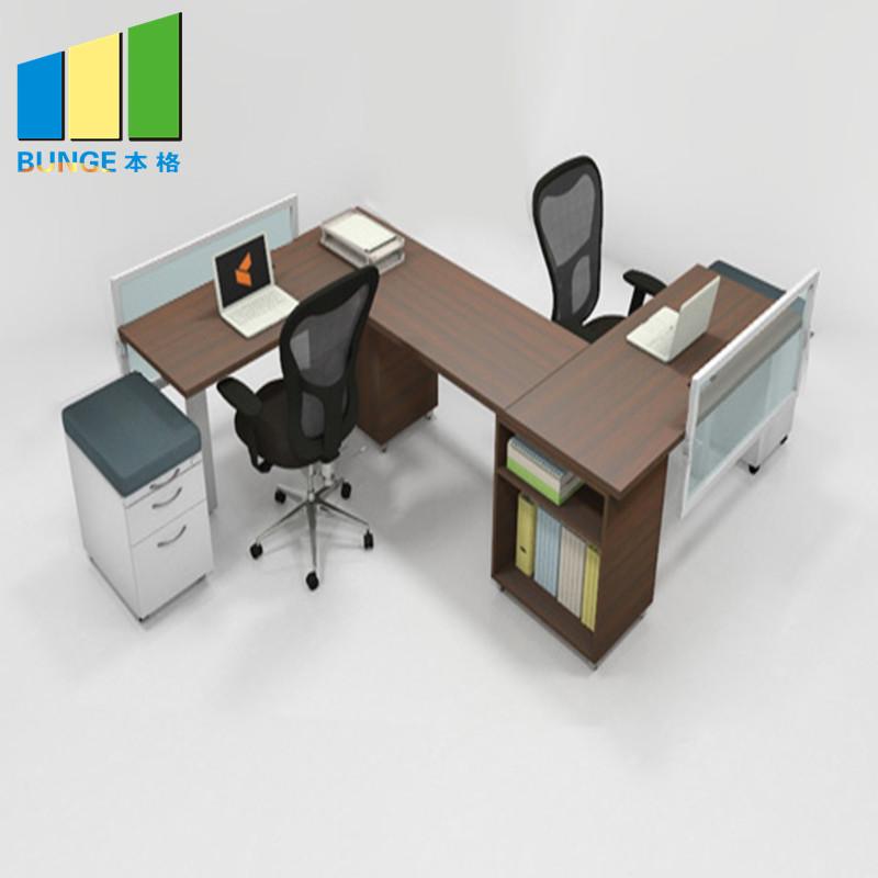 Bunge-Pc Workstation Desk, New Modern Metal Frame Modular Furniture 2-6 Person-2
