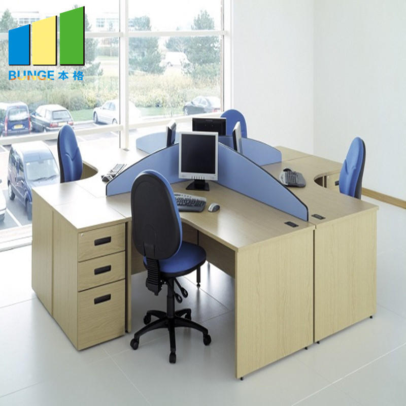 Computer Tables Office Cubicle Furniture Modular Desk Office Workstation