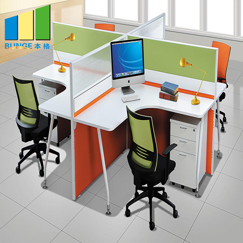 Computer Tables Office Cubicle Furniture Modular Desk Office Workstation