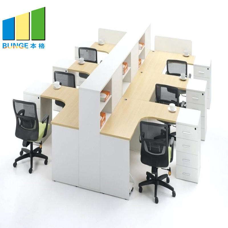 Computer Tables Office Cubicle Furniture Modular Desk Office Workstation-EBUNGE