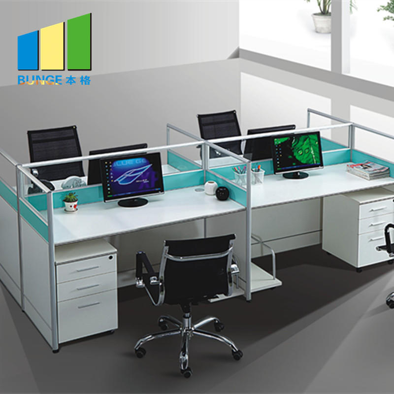 Simple Office Furniture Partitions , Meeting Room Computer Workstation Furniture