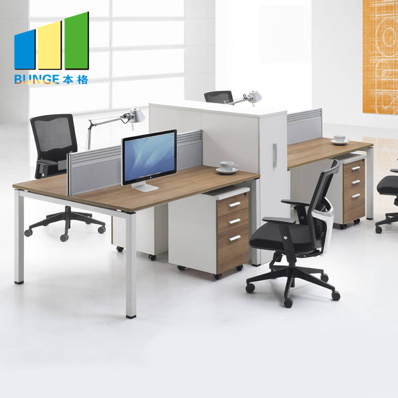 Bunge-Cubicle Desk, Simple Office Furniture Partitions , Meeting Room Computer
