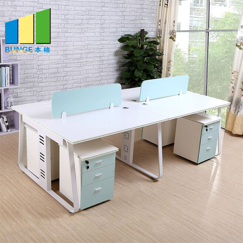 Bunge-Cubicle Desk, Simple Office Furniture Partitions , Meeting Room Computer-1