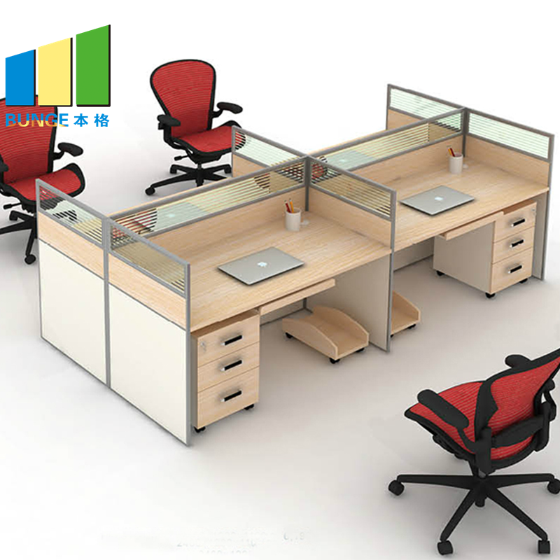 Bunge-Find Office Workstation Free Standing 4-8 Seater Furniture Flexible Modular