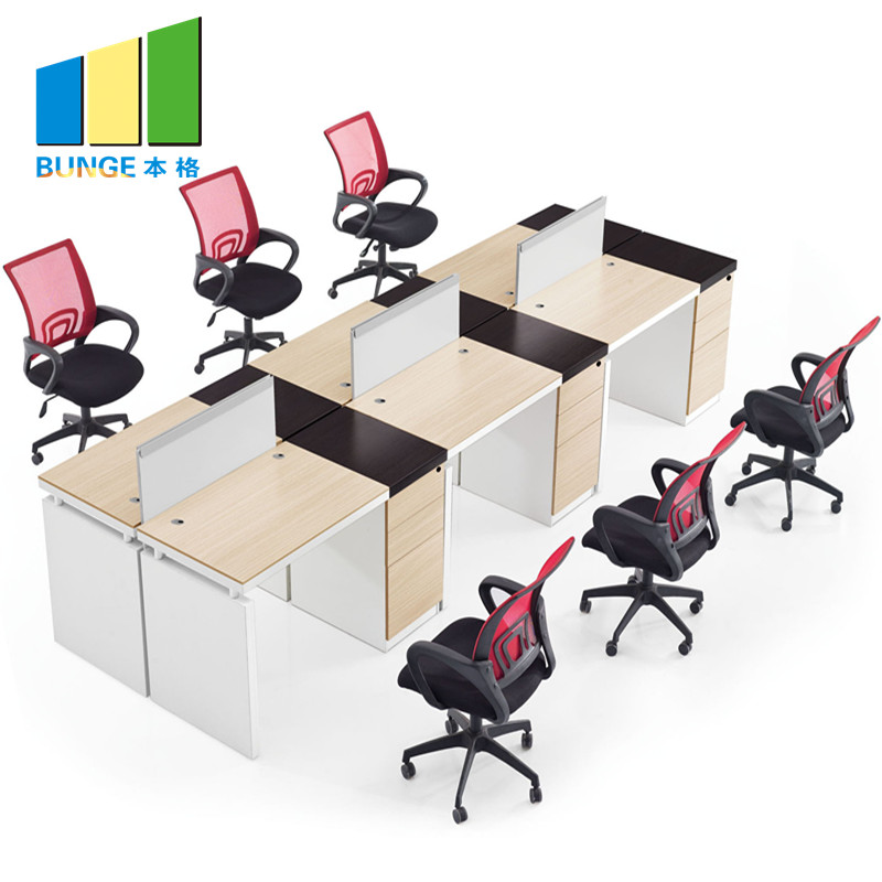 Bunge-Find Office Workstation Free Standing 4-8 Seater Furniture Flexible Modular-1