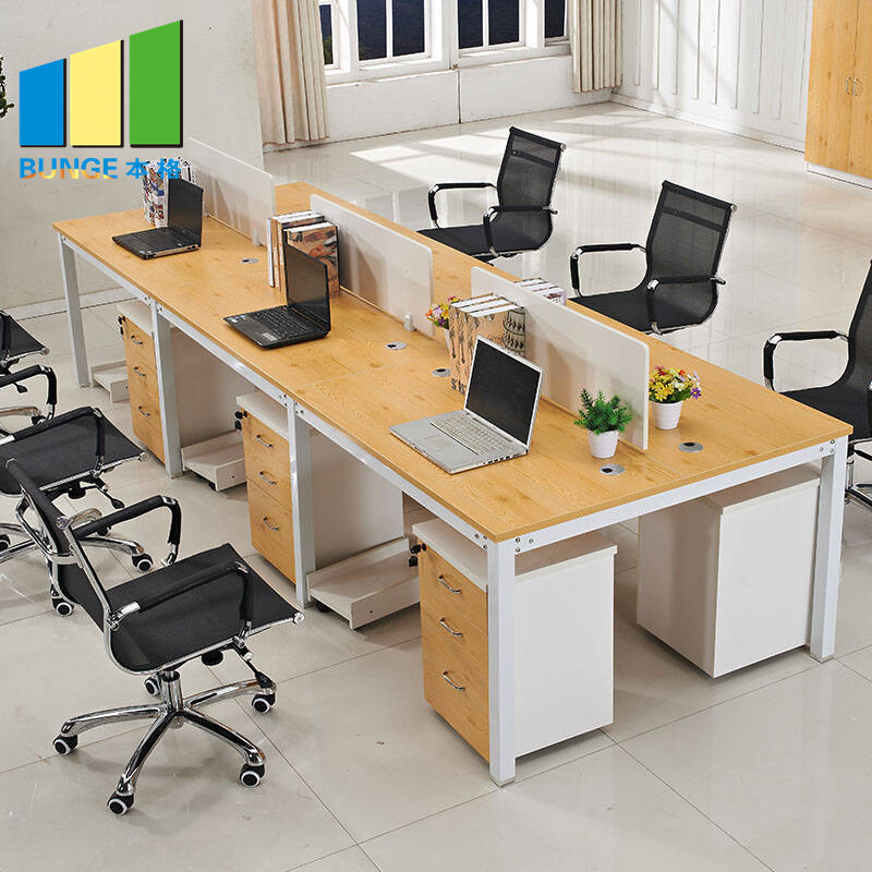 Bunge-Find Office Workstation Free Standing 4-8 Seater Furniture Flexible Modular-5