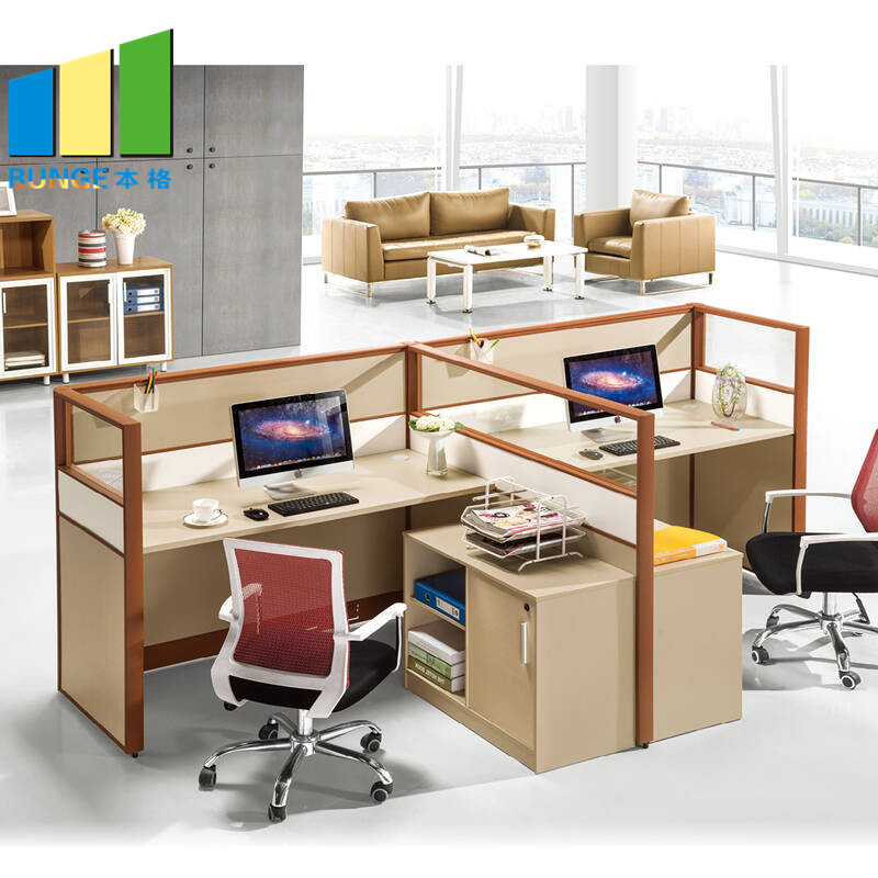 Bunge-Manufacturer Of 4 Person Workstation Desk Anti - Water Office Furniture