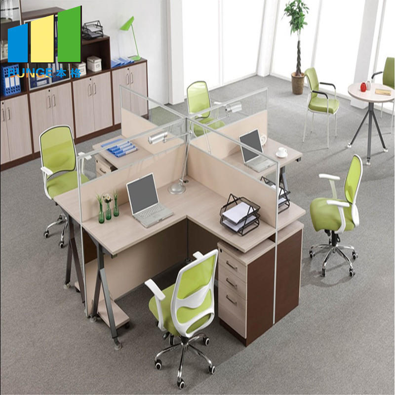 product-EBUNGE-Anti - Dirty School And Office Furniture Partition Walls , 4-6 Person Office Desks-im