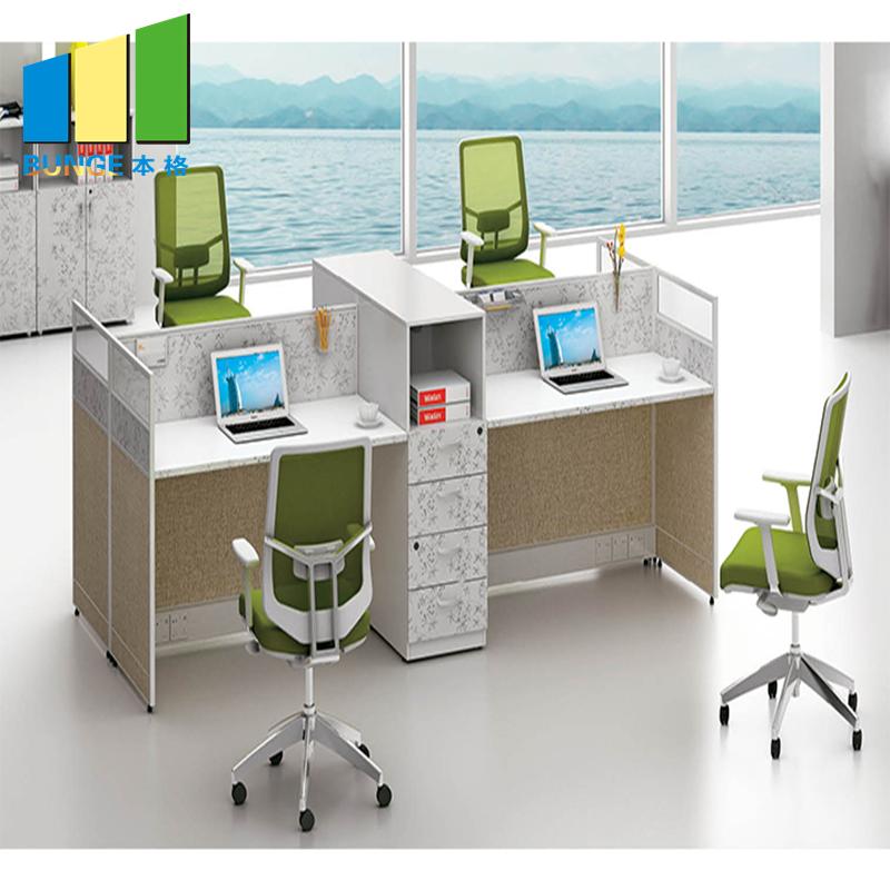 Bunge-Manufacturer Of Office Table Furniture Simple Design Melamine Board Finish-1