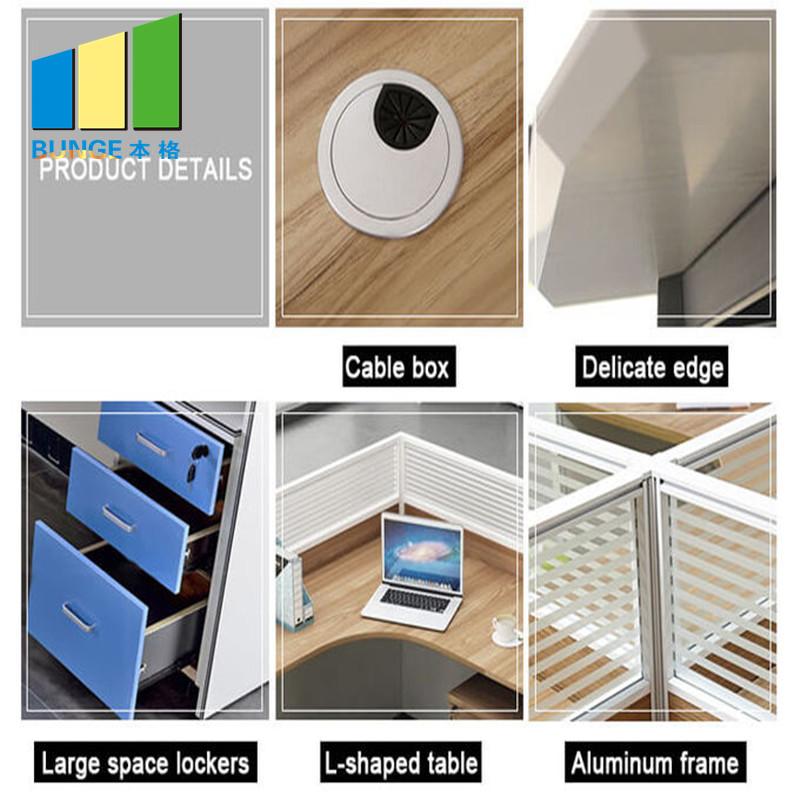 Bunge-Manufacturer Of Office Table Furniture Simple Design Melamine Board Finish-2