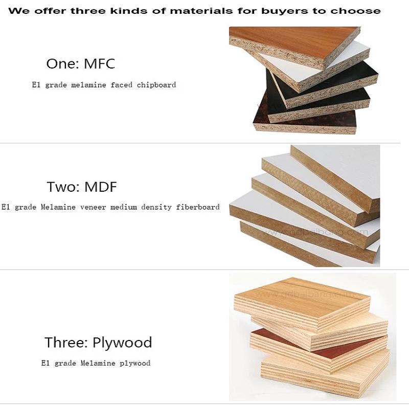 Bunge-Manufacturer Of Office Table Furniture Simple Design Melamine Board Finish-3