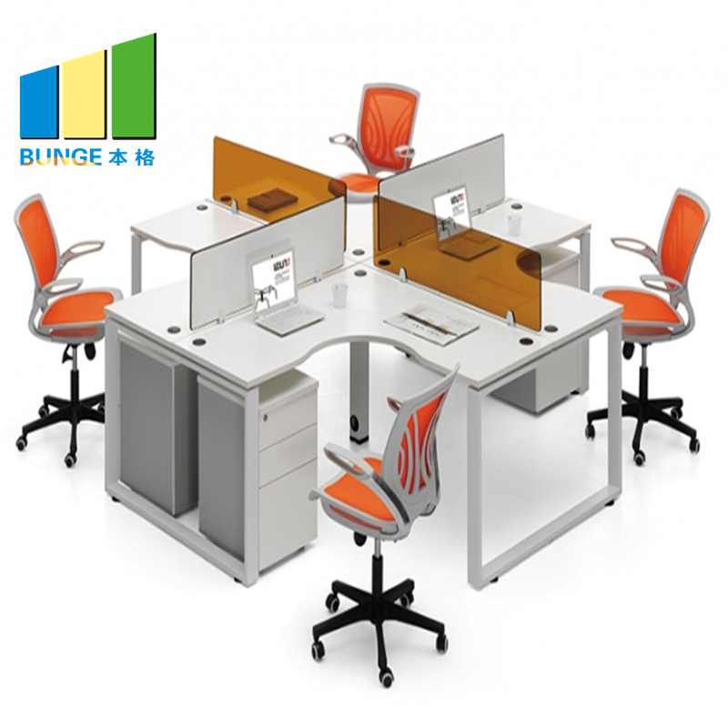 Bunge-Manufacturer Of Office Table Furniture Simple Design Melamine Board Finish-5