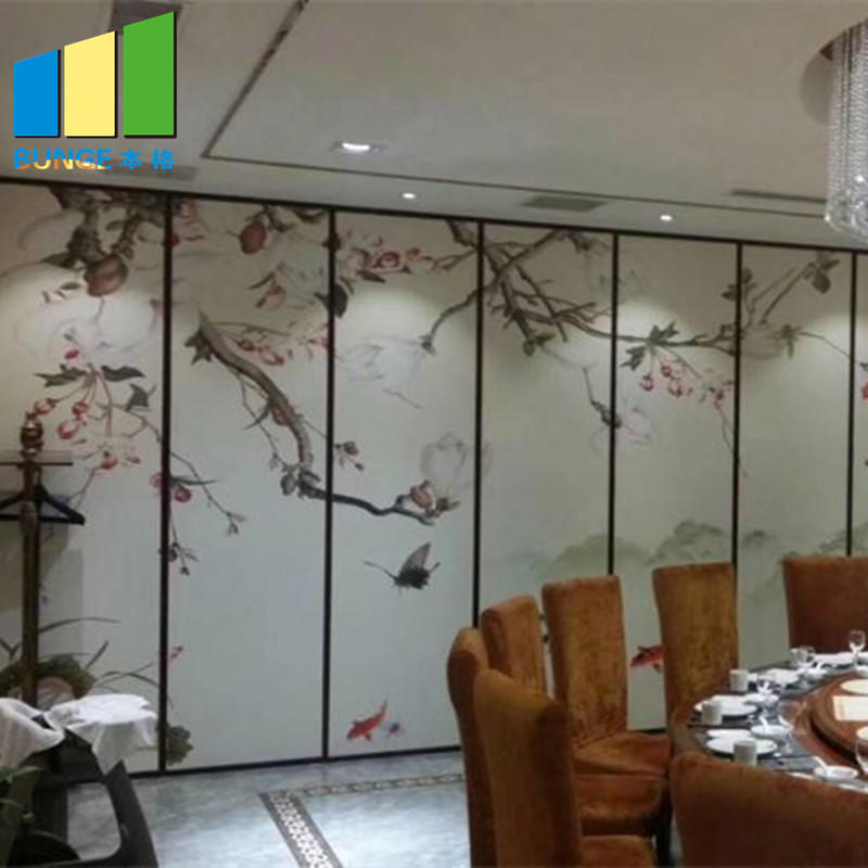 Accordion Home Fabric Movable Demountable Folding Partition Walls
