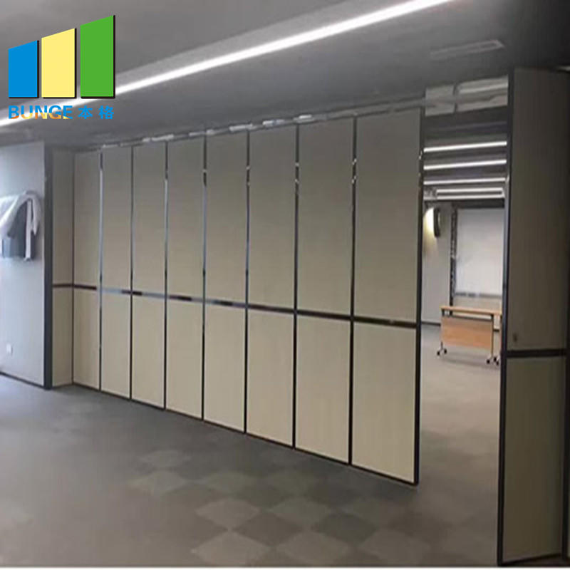 Floor to Ceiling Folding Hanging Modular Movable Acoustic Partition Walls-EBUNGE