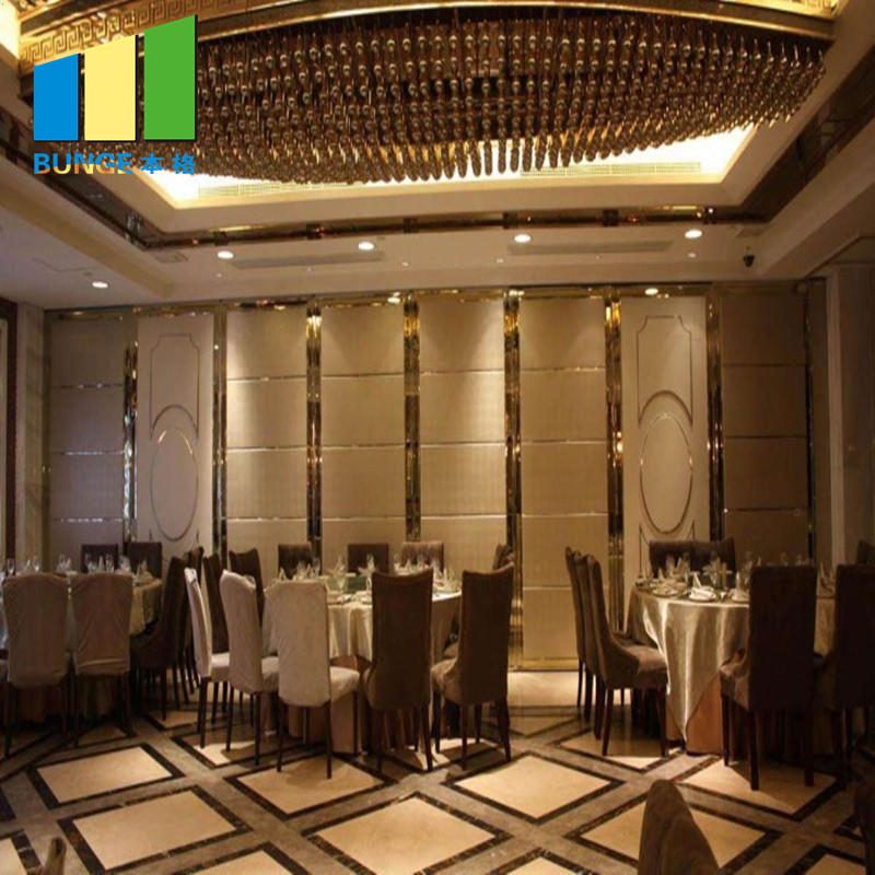 Hotel Sound Proofing Movable Walls Banquet Hall Sliding Partition Walls